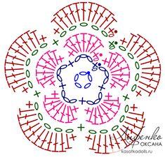 Crochet Doilies, Crochet Flowers, Crochet Stitches, Crochet Animal Hats, Charts, Knitting, Logos, Pattern, Album