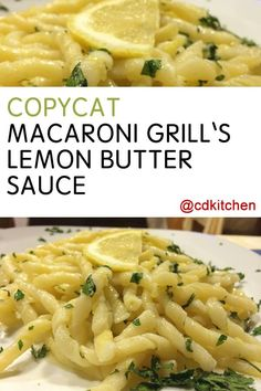 Easy lemon butter cream sauce for pasta