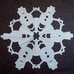 snowflake printable