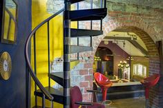 Choose your DIY or custom-made steel spiral stairs and beautify your home with our great steel spiral staircase kits and bespoke design options. Staircase Metal, Spiral Staircase, Steel Stairs, Home Stairs Design, Man Cave Garage, House Stairs, Stairway To Heaven, Loft Spaces, Stairways