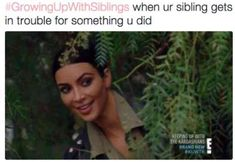 Hilarious memes that you can laugh at with your siblings and then give them a wet willy. Growing up with siblings is not an easy task, and these funniest sibling memes are the proof. Enjoy it and share with us if you have any! Funny Shit, Stupid Funny Memes, Funny Relatable Memes, Hilarious, Funny Stuff, Kardashian Memes, Memes Humor, Growing Up With Siblings, Sibling Memes