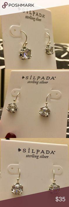 Silpada Sterling Silver Earrings Silpada Sterling Silver Earrings. Beautiful side detail. Silpada Jewelry Earrings