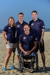 8 Athletes Named To First-Ever U.S. Paralympic Triathlon Team