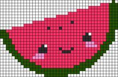Alpha friendship bracelet pattern added by lovevball. Mini Cross Stitch, Cross Stitch Charts, Cross Stitch Designs, Cross Stitch Patterns, Pixel Art, Square Patterns, Loom Patterns, Cross Stitching, Cross Stitch Embroidery