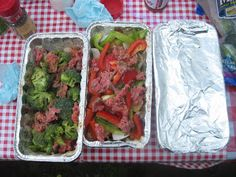 One of our favorite meals to do while camping is foil dinners. It& easy, ev. One of our favorite meals to do while camping is foil dinners. It& easy, everyone gets what they want, and there& almost no clean up! Backpacking Food, Tent Camping, Camping Hacks, Camping Recipes, Camping Foods, Camping Cooking, Camping Dishes, Camping Gadgets, Glamping