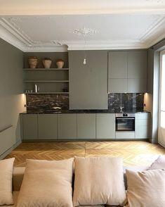 53 Trendy Home Kitchen Decor Granite Home Interior, Interior Design Living Room, Küchen Design, House Design, Casa Milano, Trendy Home, Cheap Home Decor, Home Kitchens, Home Remodeling
