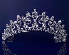Rhinestones Crystal Wedding Bridal Pageant Princess Tiara Crown 3150: