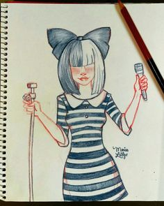 Sia Album Maddie Ziegler Dance Moms Drawing Ideas Youtubers Kawaii Dancing Binder Sketches