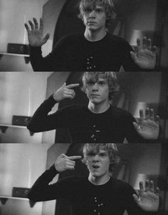 Tate Langdon [Black and White]