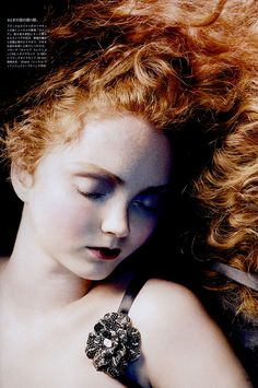 Lily Cole, I remember having this torn out of my Vogue magazine and pinned to my wall when I was younger