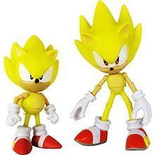 Sonic the Hedgehog Exclusive 20th Anniversary Sonic Through Time Action Figure 2Pack Super Sonic Classic Super Sonic Modern by Jazwares Toys. $33.95. Recommended Age: 4 years and up. For the 20th Anniversary of the first Sonic the Hedgehog video game, comes a line of figures that celebrates Sonics history. These figures will feature Sonic and friends in their 1991 forms, and on throughout the game series.