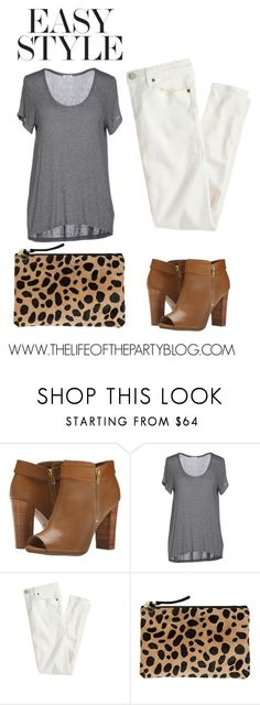"""Simple Style"" by thelifeoftheparty ❤ liked on Polyvore featuring moda, Splendid, J.Crew y Clare V."