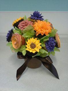 Cupcake bouquet www.bakingmemories.net