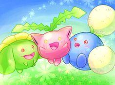 #hoppip #pokemon #anime #pocketmonsters #skiploom #jumpluff