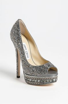 Jimmy Choo 'Kendall' Crystal Pump #Nordstrom #toppins