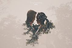 wedding day photo in Hong Kong, pre-wedding, engagement, bride and groom, double exposure, wedding photography