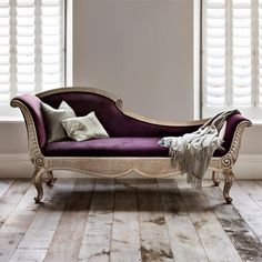 I absolutely love this French Louis XV style Chaise Longue! This is a must have in my future bedroom! Versailles Chaise Longue | Chairs and Stools