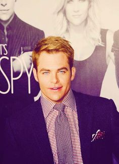 I'm going to see Chris Pine's new movie, Jack Ryan: Shadow Recruit, on Monday and I'm so excited.