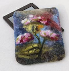 Hand felted Kindle Case
