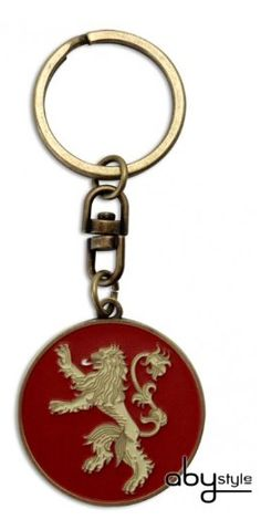 """Game Of Thrones - """"Lannister"""" Keychain  Manufacturer: Abysse Corp. Barcode: 3700789200604 Enarxis Code: 012263 #toys #keychain #Game_of_Thrones #Lannister #tvseries"""