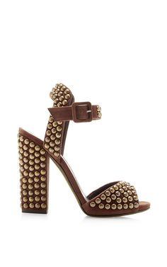 Studded Suede Platform Sandals by Giuseppe Zanotti - Moda Operandi