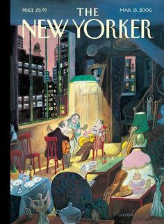 Jean-Jacques Sempé | The New Yorker Cover 2006 - Three Amigos