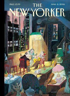 Jean-Jacques Sempé, The New Yorker