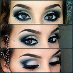 Bekijk de foto van ElsaRblog met als titel Smokey eyes...  blauw of bruin... en andere inspirerende plaatjes op Welke.nl.