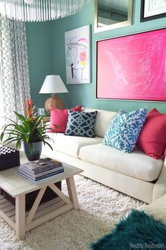 Sitting Room in the HGTV Dream Home {Reality Daydream}
