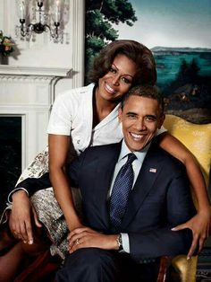 President Obama and Lady Michelle