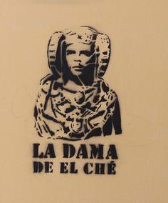 La dama de El-Che. @Barrio del Carmen, Valencia