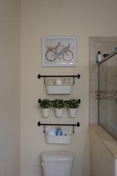 Ikea Fintorp Bathroom Organization/ Decoration.