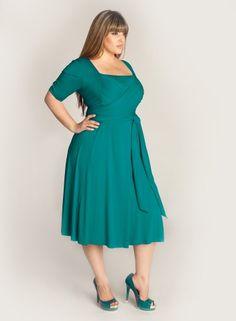 Tiffany Dress in Jade