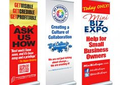 Graphic design services for marketing materials, business development and brand consistency. Pop Up Banner, Graphic Design Services, Advertising Agency, Marketing Materials, Banners, Print Design, River, City, Business