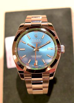 Oyster Perpetual Milgauss Z Blue Dial Watch