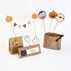 Kit Dia das Bruxas  Para um festa estilosa! em www.lojadanuvem.com #diadasbruxas #halloween #bruxa #festa #festainfantil #decoracao