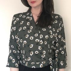 Ella wrap blouse by Sew Over It Making Clothes, How To Make Clothes, Diy Clothes, Dress Patterns, Sewing Patterns, Sew Over It, Wrap Blouse, Dressmaking, Diy Ideas