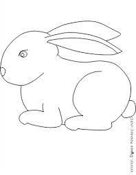 Výsledek obrázku pro králík omalovánka