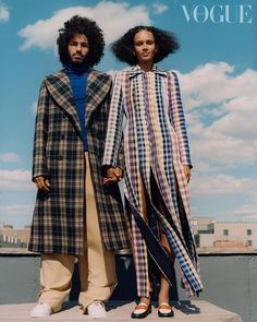 Instagram Dope Fashion, Fashion 2020, Fashion News, Vogue Uk, Vogue Paris, Vogue Editorial, Editorial Fashion, Edward Enninful, Couples Modeling