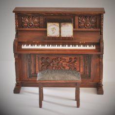blythe barbie bjd use piano miniature