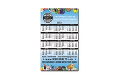 The 3x5 inch custom magnetic calendar is the ideal size for your next custom designed magnet. Include your business details, logo and branding to the magnet and give your customers an informative marketing tool that they can appreciate all year long. #wgmagnets