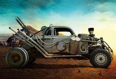 Mad Max: Fury Road Vehicle Showcase on Behance