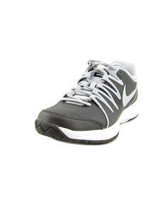 sale retailer 0e6d2 9a7d0 NIKE NIKE VAPOR COURT MEN ROUND TOE LEATHER BLACK SNEAKERS .  nike  shoes