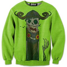 "Presenting ""The Lich"" Sweatshirt by Jouste. Get your Adventure Time swag on! :)"