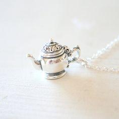 Sterling Silver Teapot