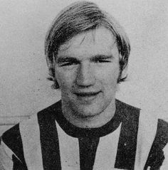 July 1969. A short haired Tony Currie beginning to make a reputation in Sheffield United's promotion push.