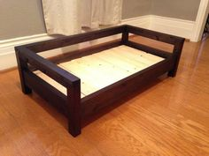 Medium Dog Bed Raised Dog Bed Elevated Dog Bed by CozyCama - Tap the pin for the most adorable pawtastic fur baby apparel! You'll love the dog clothes and cat clothes! Dog Bed Frame, Wood Dog Bed, Pallet Bed Frames, Diy Dog Run, Art Beagle, Raised Dog Beds, Elevated Dog Bed, Dog Couch, Diy Bett