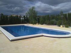 Piscina privada en Cehegin (Murcia), realizada por Sol y Agua 2M. Vea mas en www.solyagua2m.com