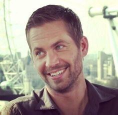 Paul Walker hehehehe he looks like he has something a little dirty on his mind
