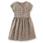 Carter's - Animal print dress is a great pick for her closet. Make it girly with a bright pink cardigan or go for a tomboy look with a cargo jacket on top. Either way, she'll love the classic cheetah print!
